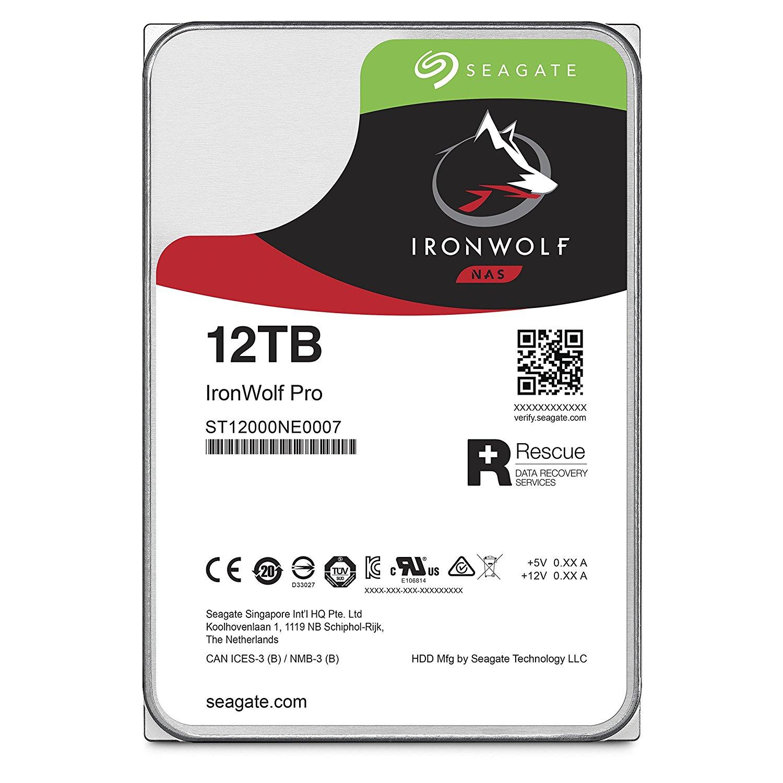 Seagateの12TB HDDが発売中 ST12000VN0007 ST12000NE0007